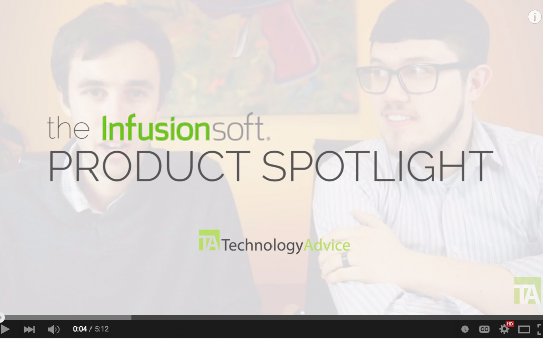 Throwback Thursday: My Infusionsoft product spotlight on TechnologyAdvice.com