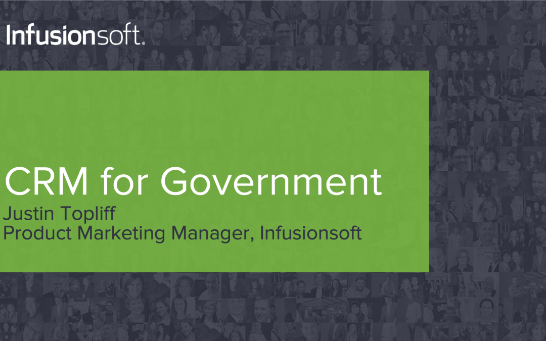 I talk CRM for government with the NCSL at Cox Communications