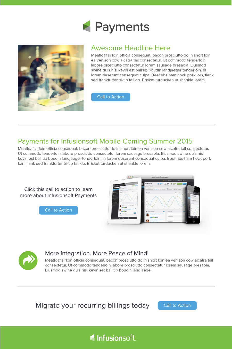 infusionsoft payments product nurture email 3 justin topliff