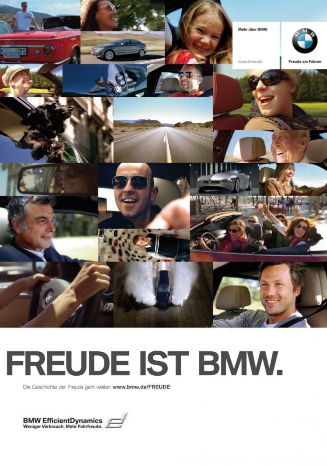 bmw joy ad