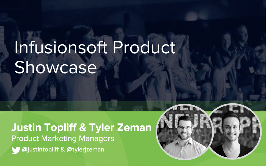What new Infusionsoft products did I release at ICON16?