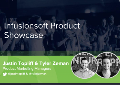 ICON16 – Infusionsoft Product Showcase