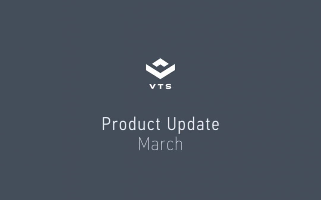 Updates on VTS' product roadmap!