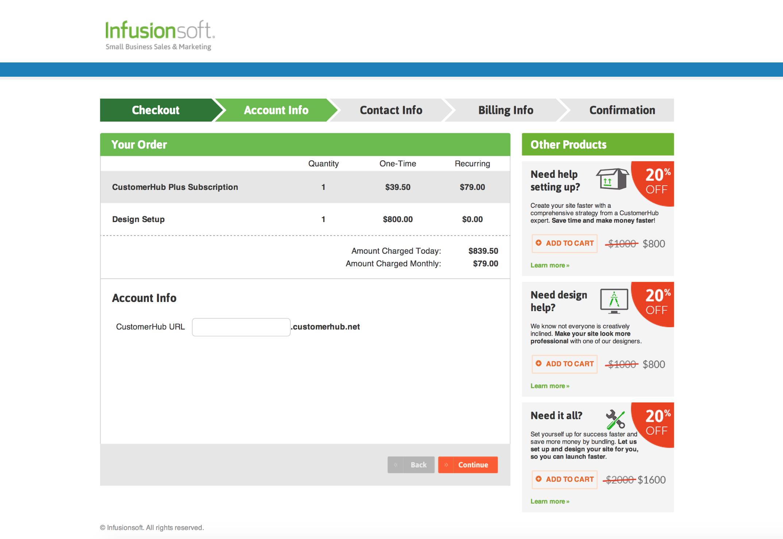 Justin Topliff CustomerHub buy now CAM cart