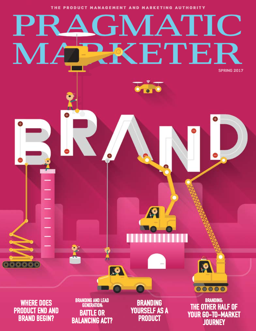 topliff pragmatic marketing branding go to market journey