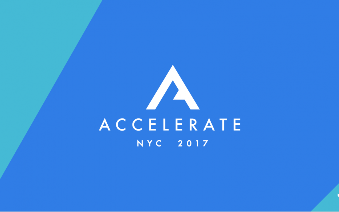 Opening Keynote – Accelerate 2017 (VTS)