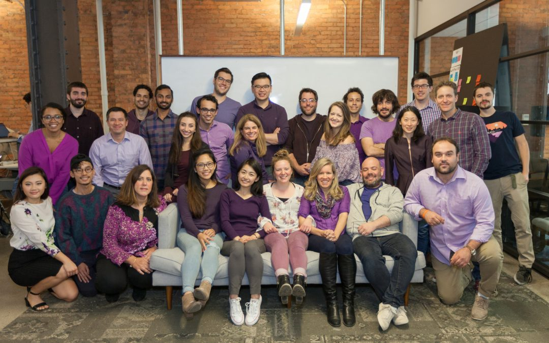 VTS' Diversity Committee supports Domestic Awareness Prevention Month by wearing purple