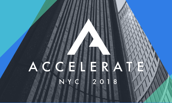 VTS' Accelerate 2018 user conference is coming!