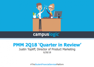 Quarter in Review – 2Q18 at CampusLogic