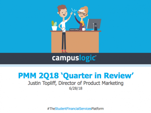 Quarter in Review – 2Q18 at CampusLogic